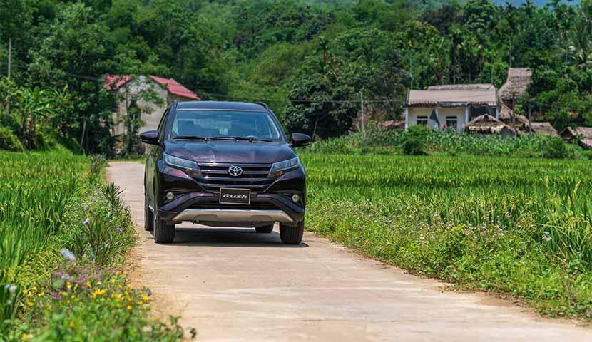 De Hanoi à Pu Luong en voiture privée