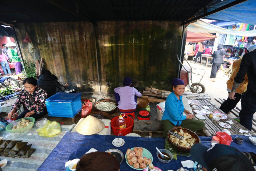 Le marché de Pho Doan