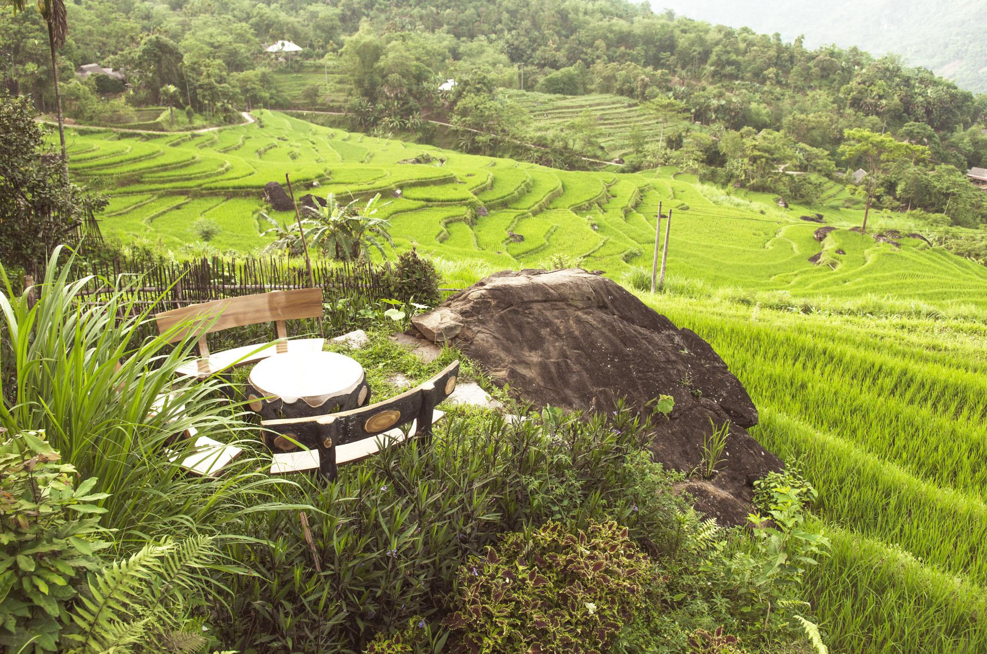 L'espace de Pu Luong retreat