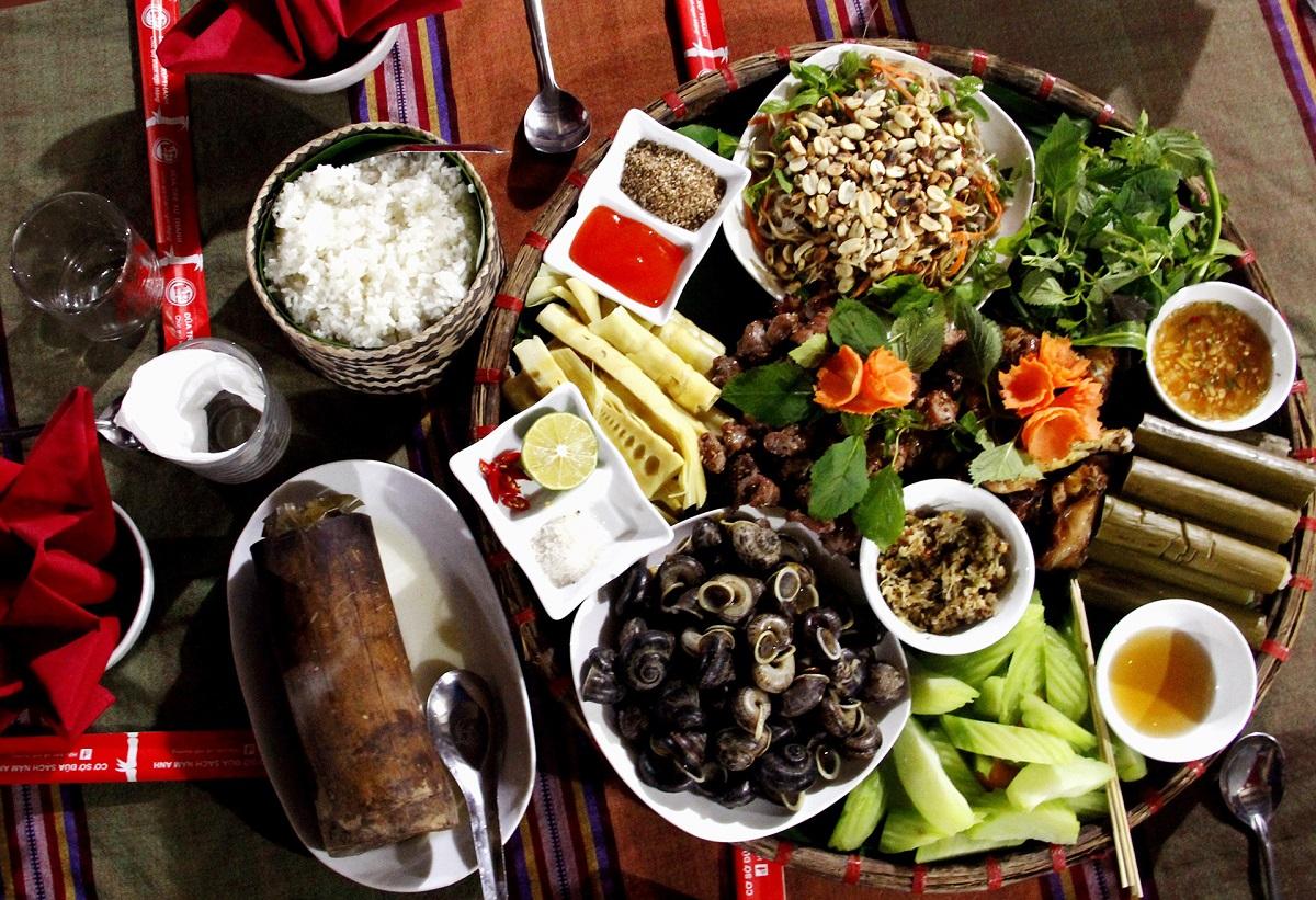 Que manger à Pu Luong