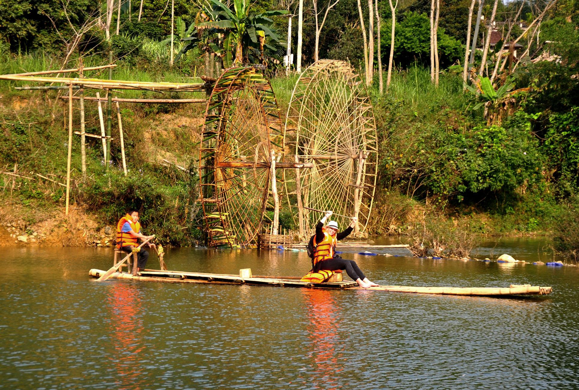 Rafting pu luong