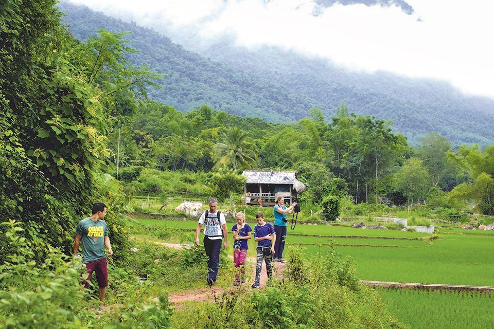 Randonnée dans la campagne de Mai Chau